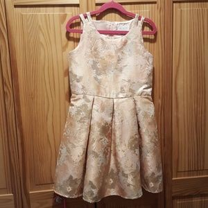 Rose Gold Girls Dress